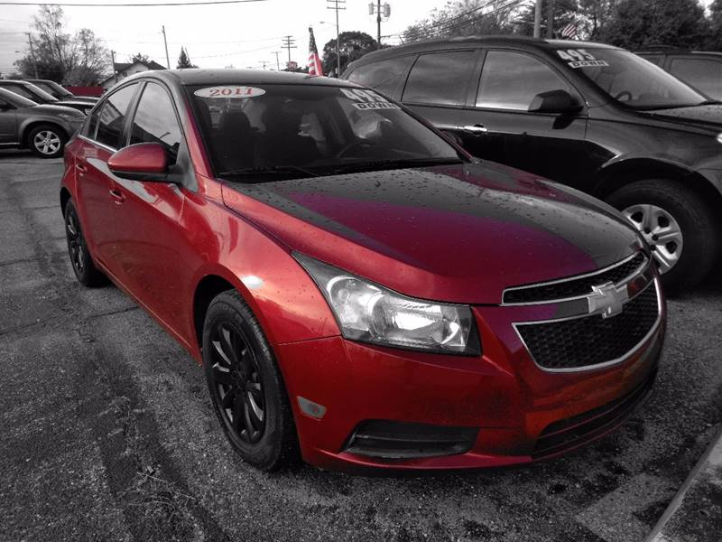 Detroit Used Car for Sale 2011 Chevrolet Cruze 48089 at D & D All ...