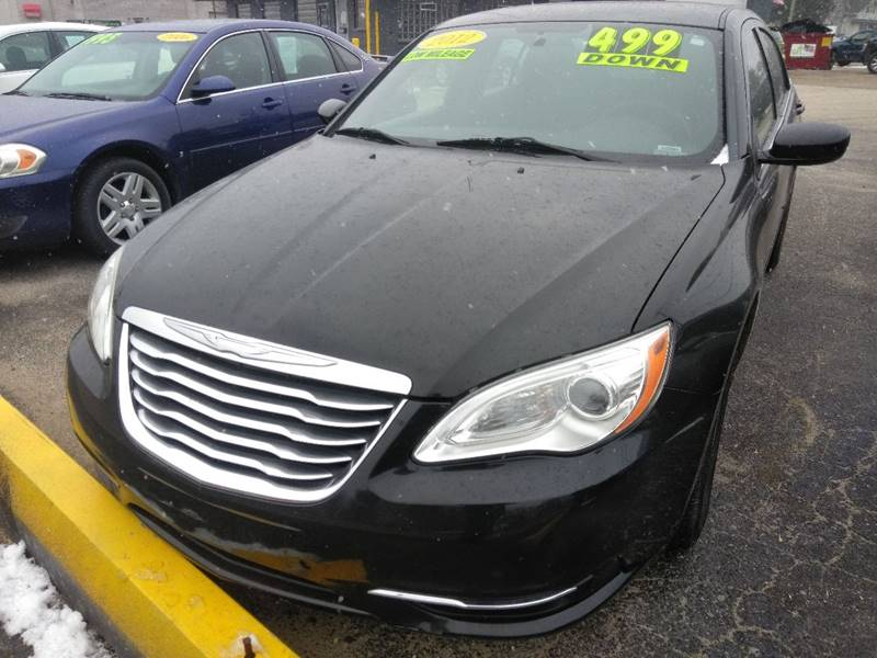 2012 Chrysler 200 Detroit Used Car for Sale