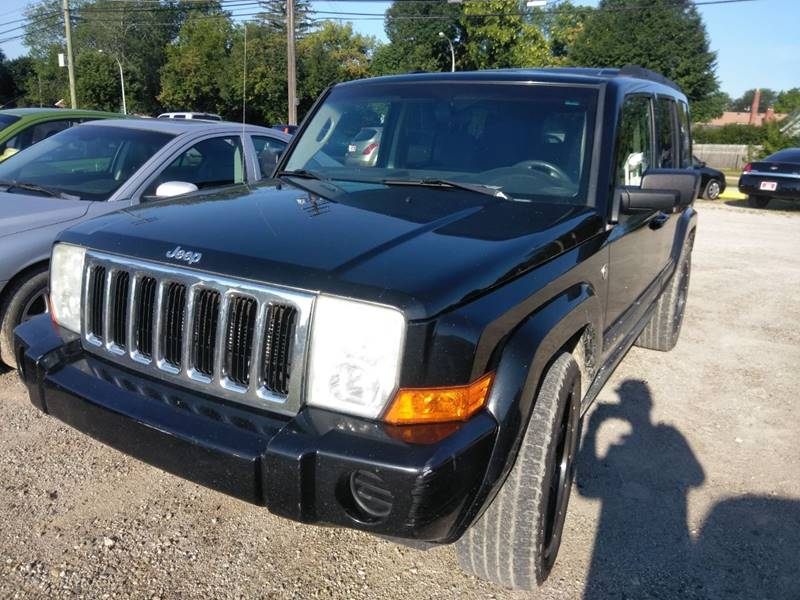 2007 Jeep Commander Detroit Used Car for Sale