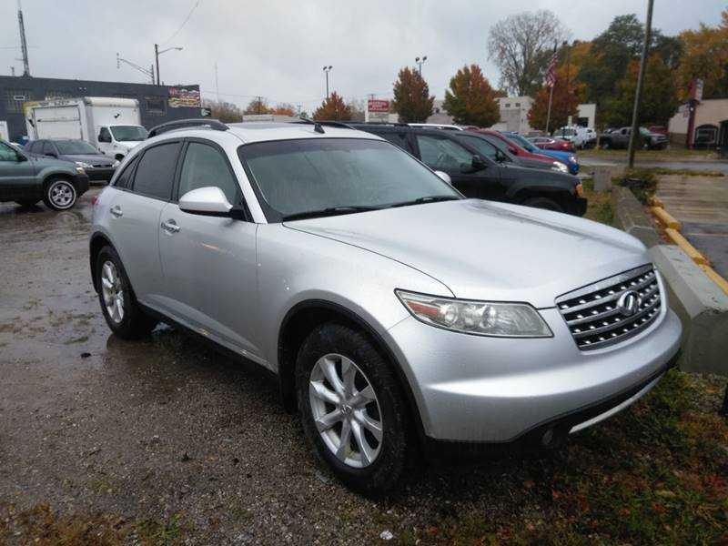 2006 Infiniti Fx35 Detroit Used Car for Sale