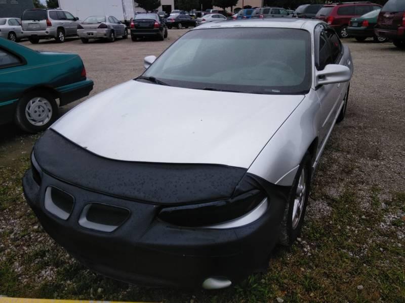 2001 Pontiac Grand Prix Detroit Used Car for Sale