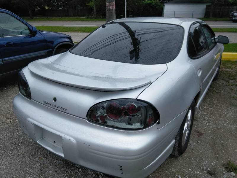 2001 Pontiac Grand Prix Detroit Used Car for Sale