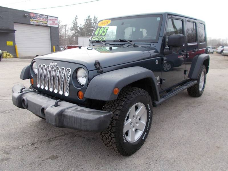 2008 Jeep Wrangler Unlimited car for sale in Detroit
