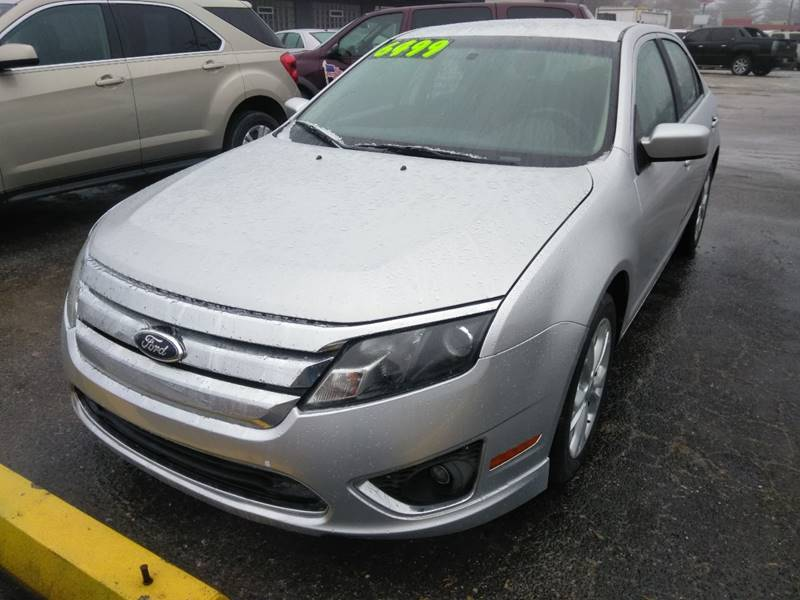 2012 Ford Fusion car for sale in Detroit