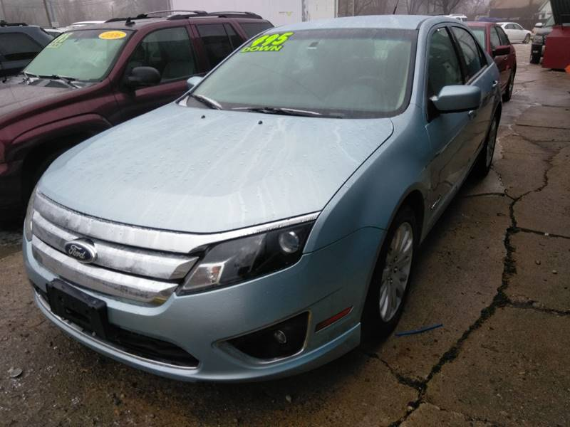 2011 Ford Fusion Hybrid car for sale in Detroit