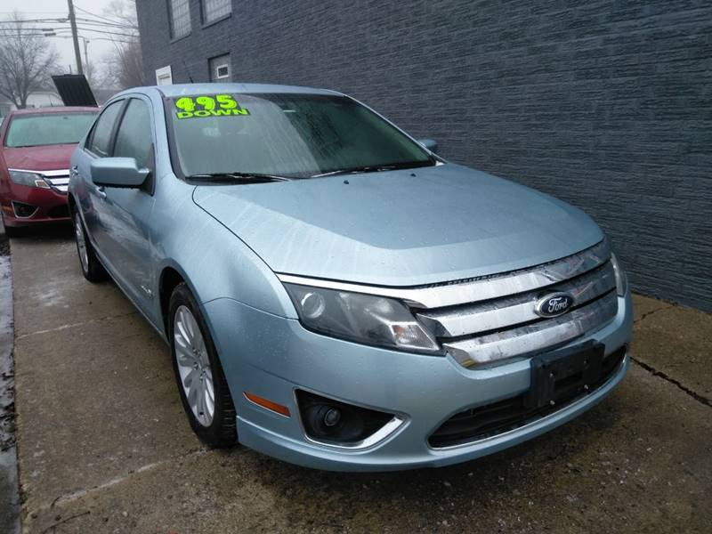 2011 Ford Fusion Hybrid Detroit Used Car for Sale