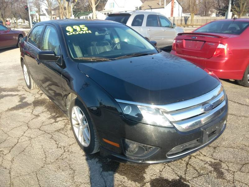 2012 Ford Fusion Detroit Used Car for Sale