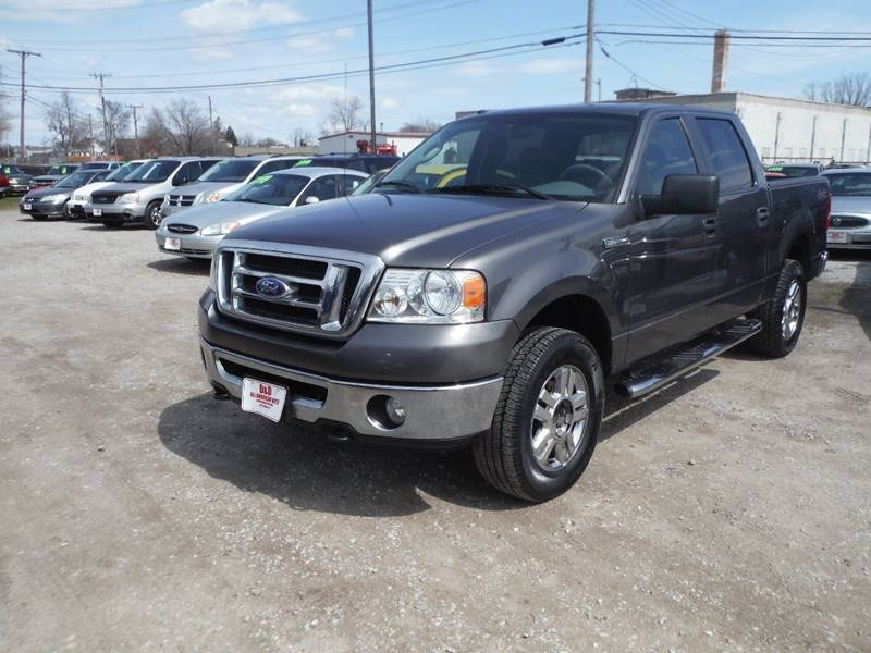 2008 Ford F-150 4x4 XLT 4dr SuperCrew Styleside 5.5 ft. SB - Mt Clemens MI