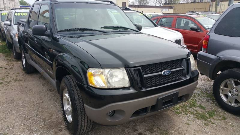 2001 Ford Explorer Sport Trac Detroit Used Car for Sale