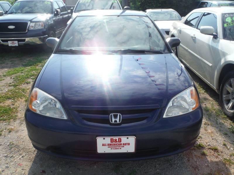 2002 Honda Civic Detroit Used Car for Sale