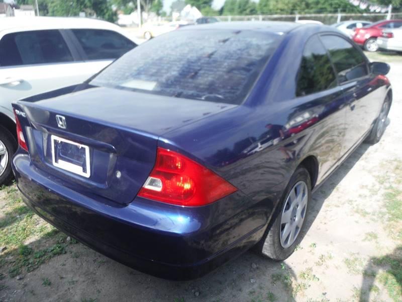 2002 Honda Civic Detroit Used Car for Sale