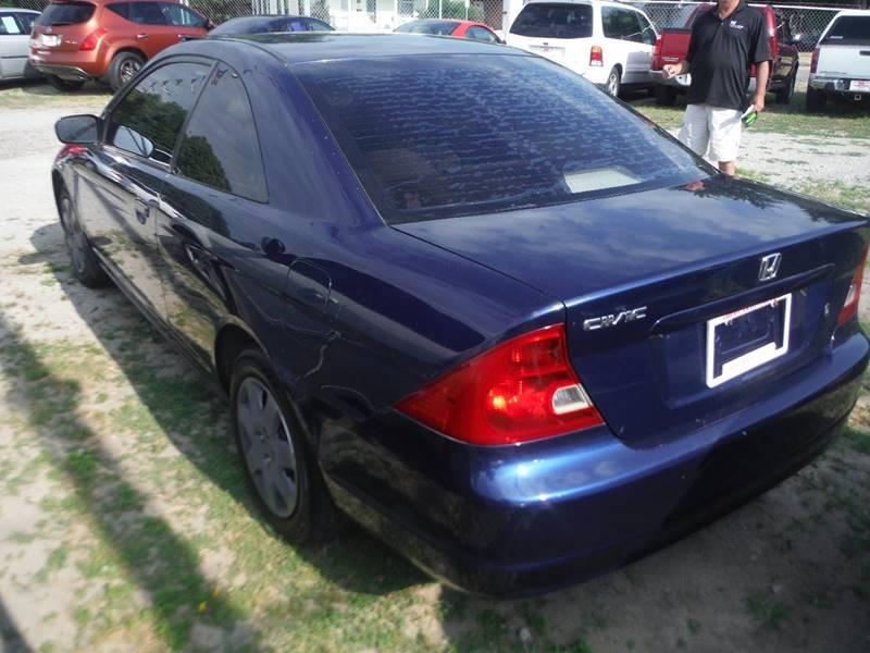 2002 Honda Civic LX 2dr Coupe - Mt Clemens MI