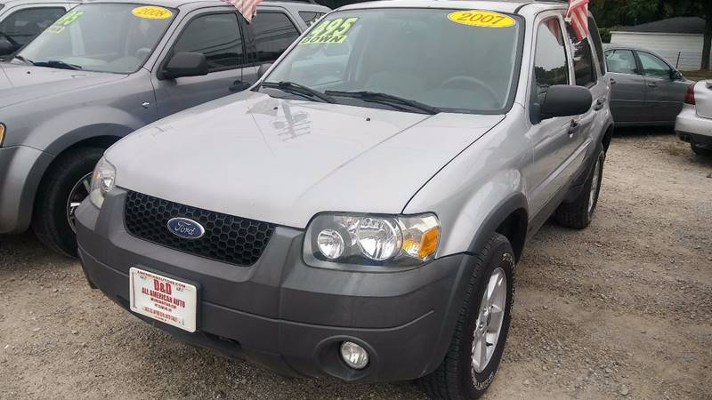 2007 Ford Escape for sale at D & D All American Auto Sales in Mt Clemens MI