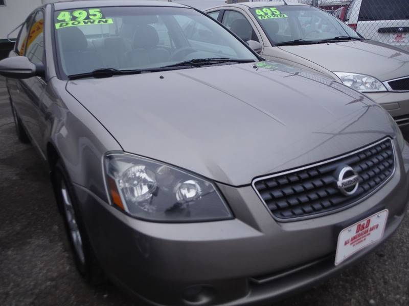 2005 Nissan Altima car for sale in Detroit