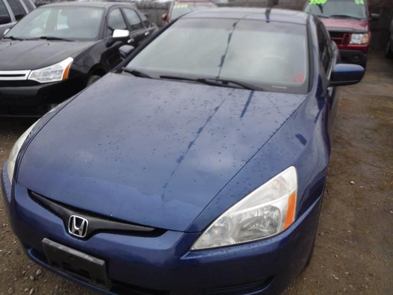 2003 Honda Accord EX 2dr Coupe w/Leather - Mt Clemens MI