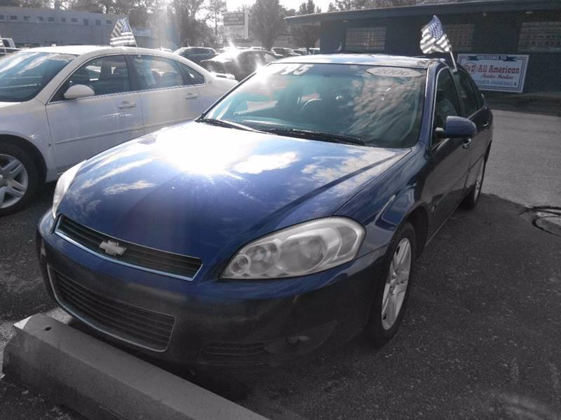 2006 Chevrolet Impala Detroit Used Car for Sale