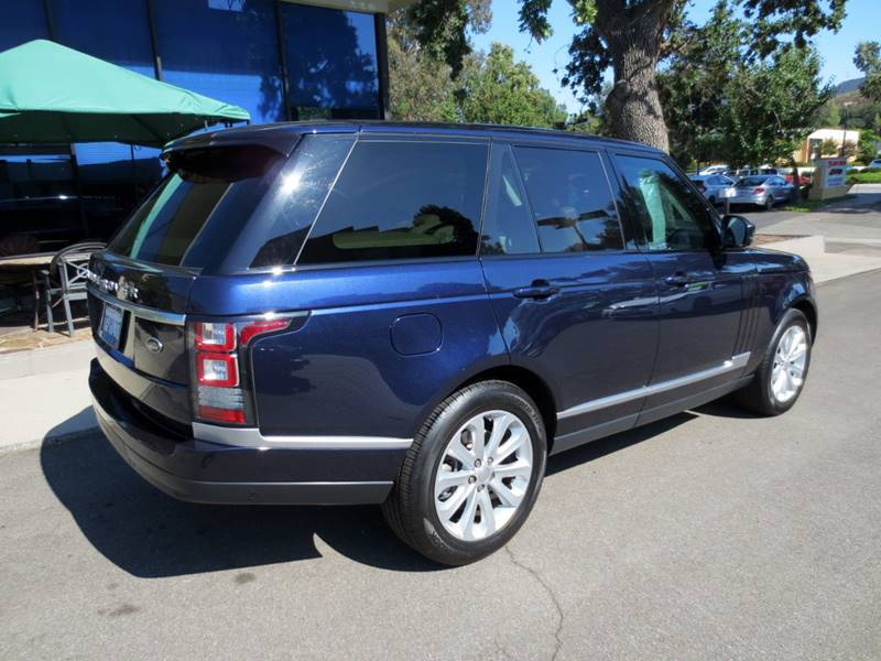 2014 Land Rover Range Rover 4x4 HSE 4dr SUV - Thousand Oaks CA