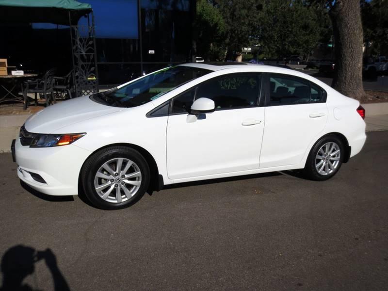 2012 Honda Civic EX-L 4dr Sedan w/Navi - Thousand Oaks CA