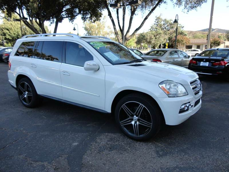 2010 MERCEDES-BENZ GL-CLASS GL450 4MATIC AWD 4DR SUV arctic white elegantly equipped with navigat