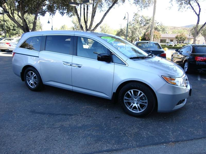 2013 HONDA ODYSSEY EX-L 4DR MINI VAN silver  1 owner under factory warranty extra clean w lo