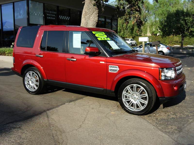 2011 LAND ROVER LR4 HSE LUX PKG rimini red metallic hse luxury package navigation 7 passenger s