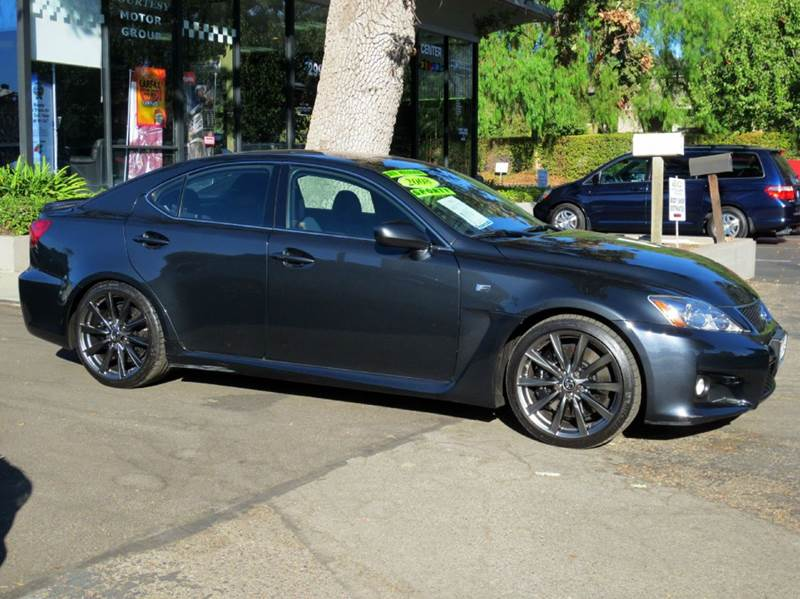 2008 LEXUS IS F BASE 4DR SEDAN smoky granite mica nicely equipped with navigation mark levinson