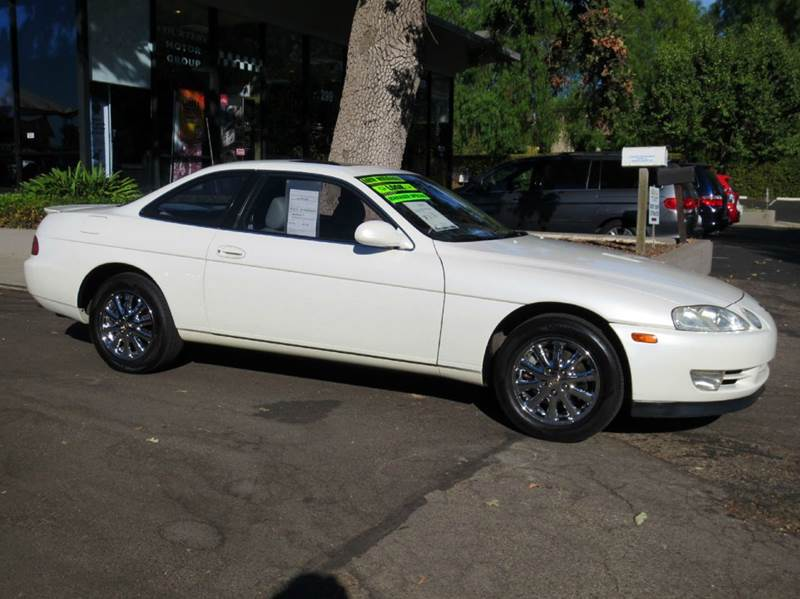 1992 LEXUS SC 400 BASE 2DR COUPE white  nicely equipped with nakamichi sound chrome wheels mo