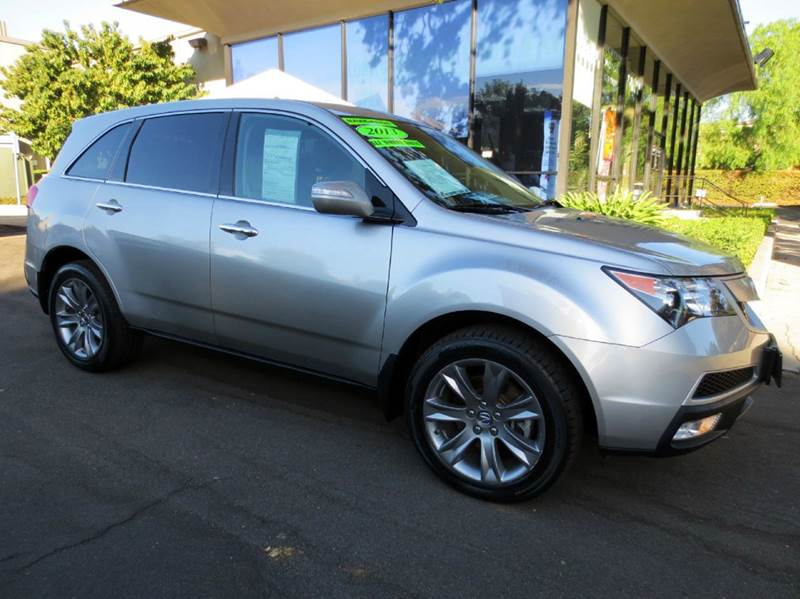 2013 ACURA MDX SH-AWD WADVANCE 4DR SUV PACKAGE silver  sh-awd 37l 300hp advance  tech packa