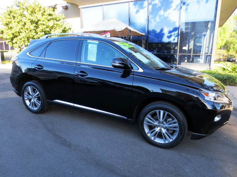 2015 LEXUS RX 350 BASE 4DR SUV black elegantly equipped with navigation premium pkg blind spot