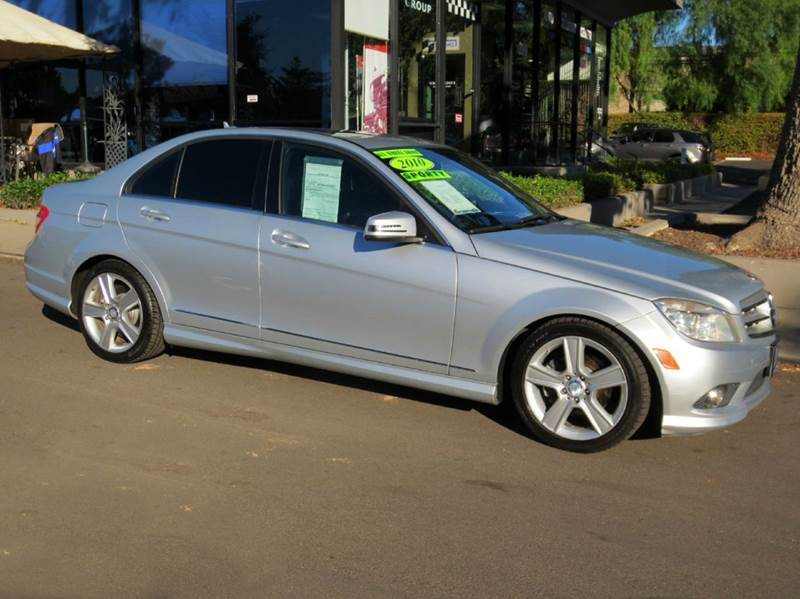2010 MERCEDES-BENZ C-CLASS C300 LUXURY 4MATIC AWD 4DR SEDAN silver  sporty  c 300 4 matic luxu