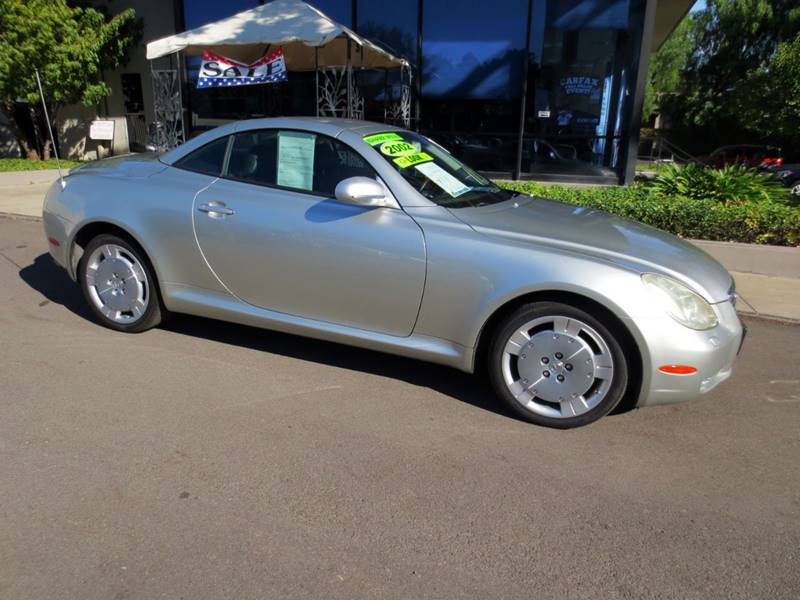 2002 LEXUS SC 430 BASE 2DR CONVERTIBLE millennium silver metallic 1 owner  2002 with 109572 o