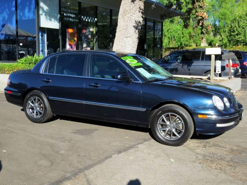 2005 KIA AMANTI BASE 4DR SEDAN black  nicely equipped with leather moon roof infiniti sound
