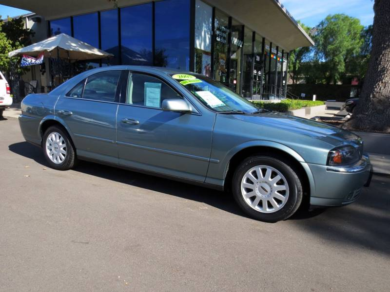 2005 LINCOLN LS LUXURY 4DR SEDAN V6 light tundra clearcoat  clean low mileage 1-owner with leat