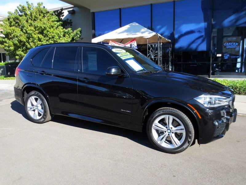 2016 BMW X5 XDRIVE35I AWD 4DR SUV black sapphire metalic  nicely equipped with m-sport driver a