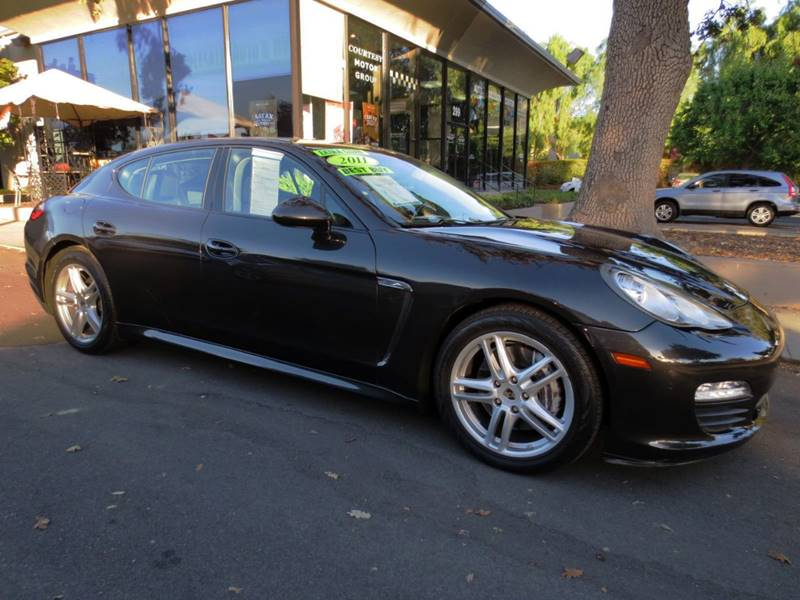 2011 PORSCHE PANAMERA BASE 4DR SEDAN gray metalic  nicely equipped carbon grey metallic w bur