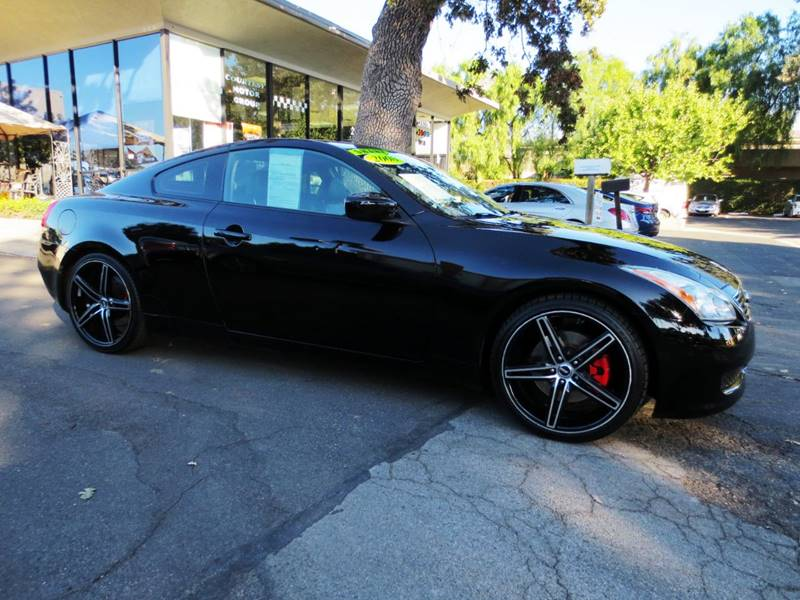2008 INFINITI G37 JOURNEY 2DR COUPE black  clean carfax black on black g37 w330 horsepower lo