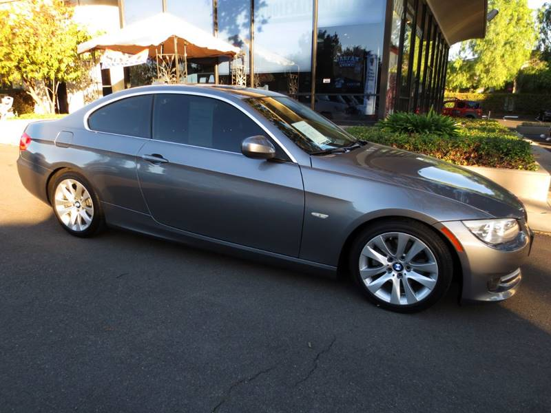 2011 BMW 3 SERIES 328I 2DR COUPE SULEV gray only 56800 miles  nicely equipped premium packag