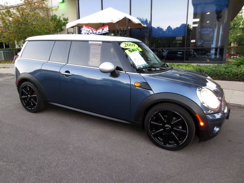 2009 MINI COOPER CLUBMAN BASE 3DR WAGON blue nicely equipped with premium pkg panorama roof 17