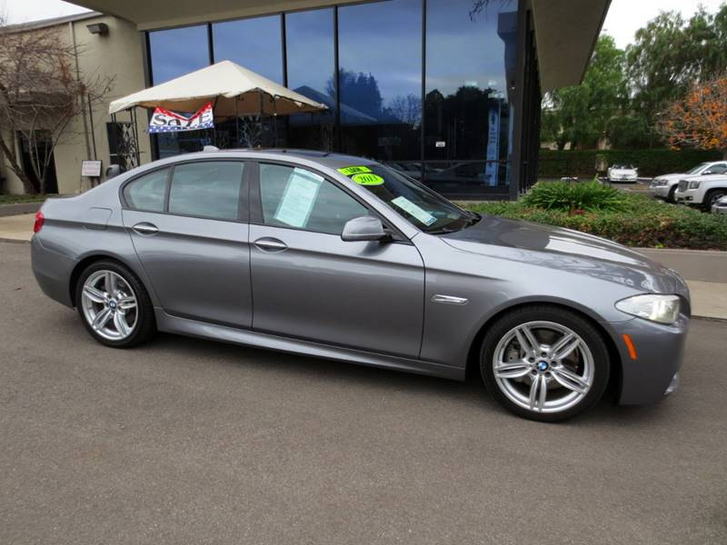 2013 BMW 5 SERIES 535I 4DR SEDAN gray  535 i turbo w only 45000 miles  1 owner carfax certi