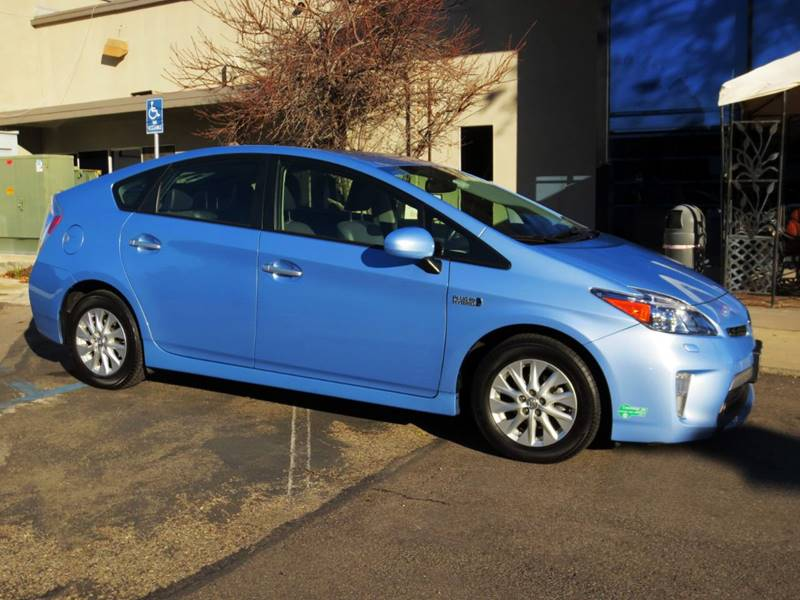 2012 TOYOTA PRIUS PLUG-IN HYBRID ADVANCED 4DR HATCHBACK blue  prius plug-in advance only 41000