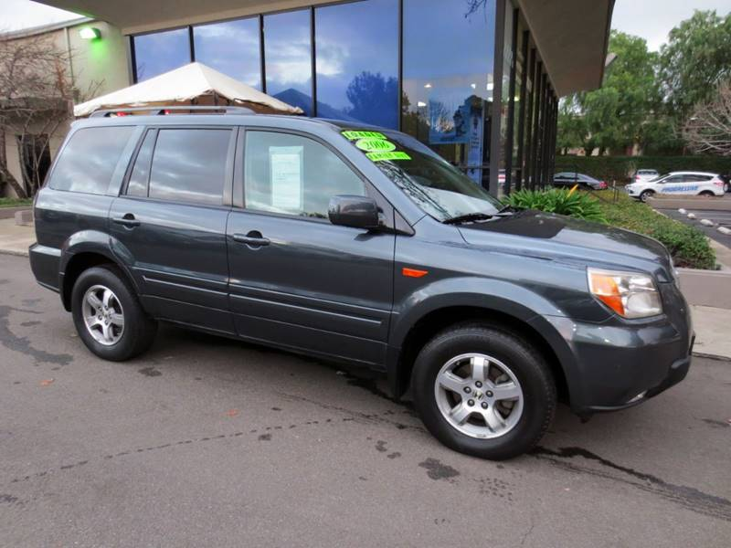 2006 HONDA PILOT EX-L WNAVI 4DR SUV blue   2 owner extra clean  nicely equipped w navigatio