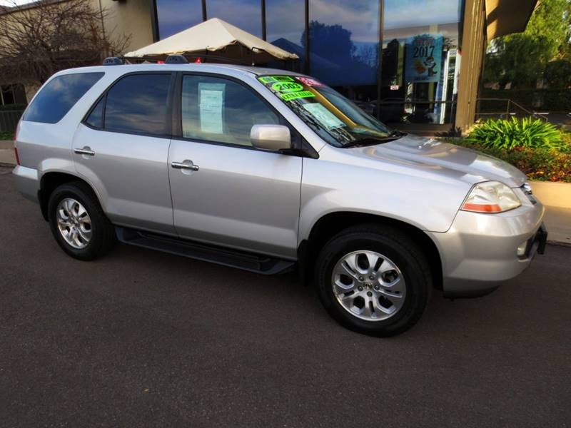 2003 ACURA MDX TOURING WNAVI AWD 4DR SUV WNAV silver  a must see  like new  nicely equipped