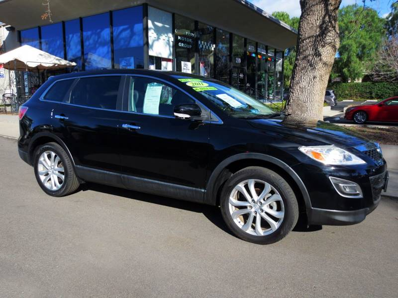 2011 MAZDA CX-9 GRAND TOURING 4DR SUV black  grand touring sport extra clean wnavigation bac