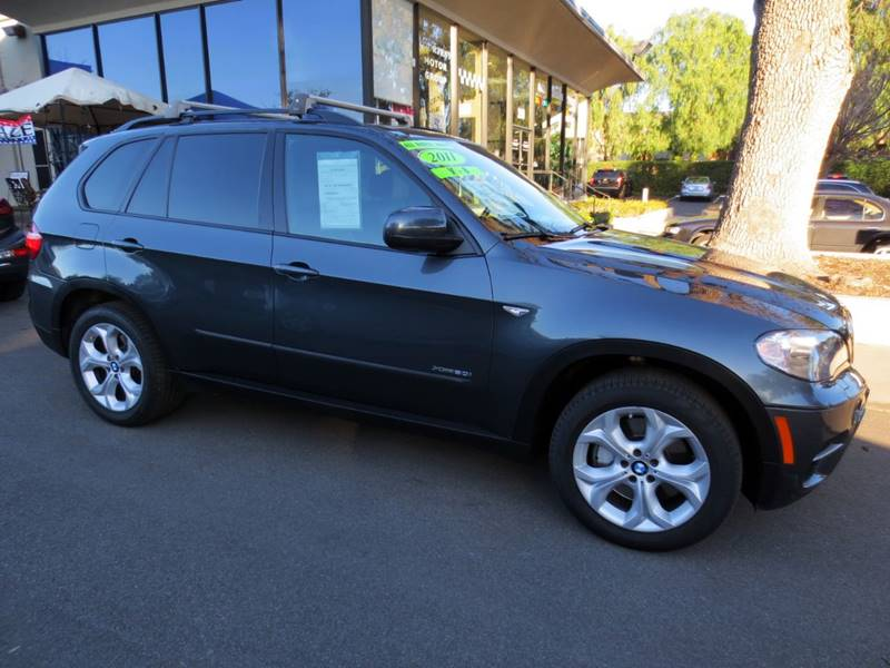 2011 BMW X5 XDRIVE50I AWD 4DR SUV charcoal  v8 50 l twin turbo x-drive awd nicely equippe
