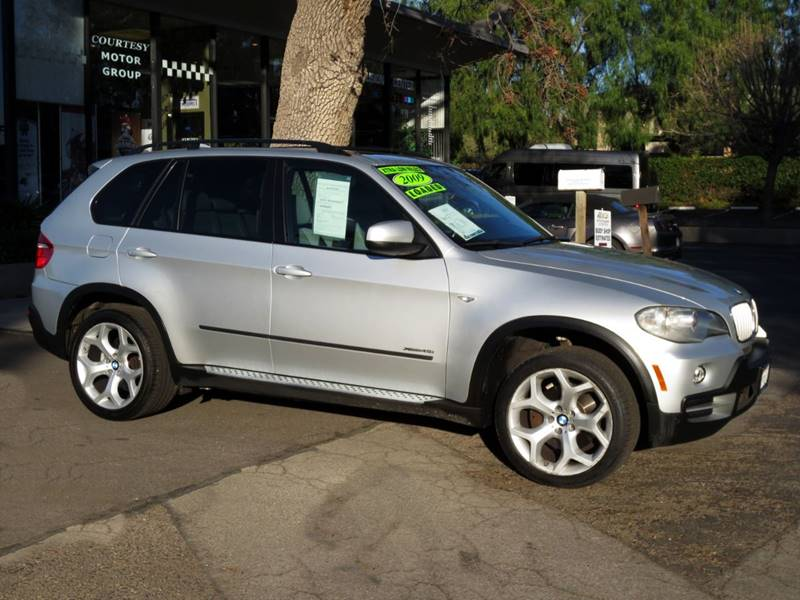 2009 BMW X5 XDRIVE48I AWD 4DR SUV silver  2009 bmw v-8 awd wonly 47000  carfax certified no