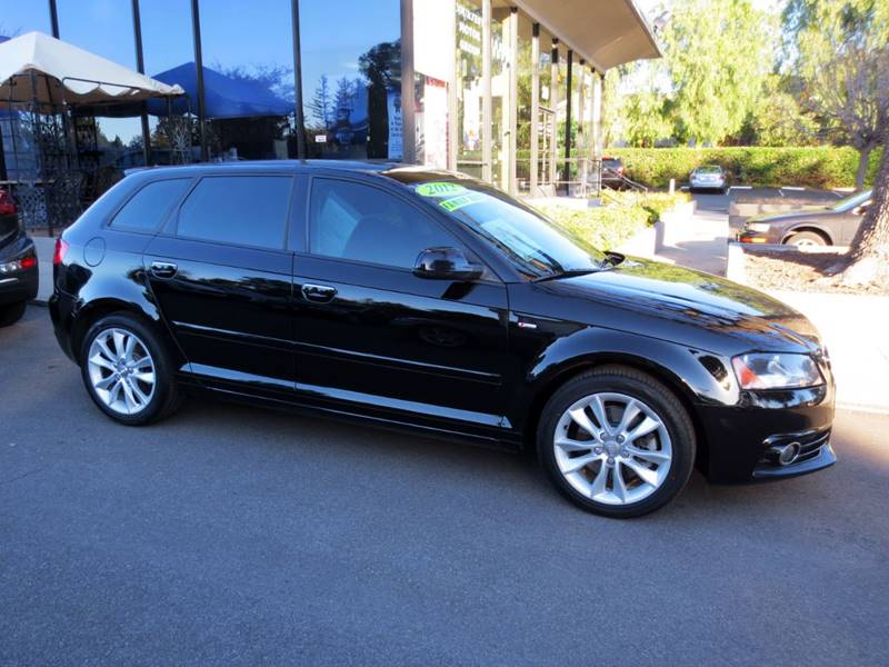 2012 AUDI A3 20T PREMIUM 4DR WAGON 6A black  a3 premium 20l turbo extra clean  nicely equip