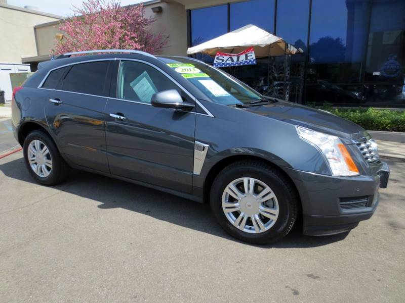 2013 CADILLAC SRX LUXURY COLLECTION AWD 4DR SUV gray flannel  carfax 1-owner with no accidents i