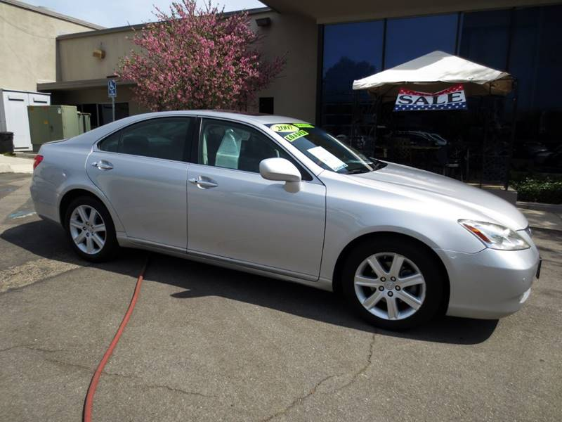 2007 LEXUS ES 350 BASE 4DR SEDAN silver   2007 es-350 like new  a must see   1 owner clea