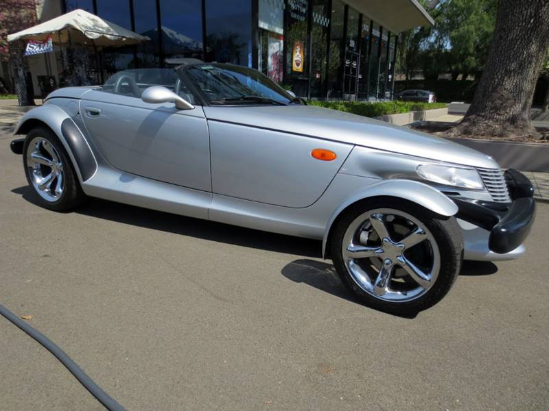 2000 PLYMOUTH PROWLER BASE 2DR CONVERTIBLE silver  new arrival  please call for details  onl