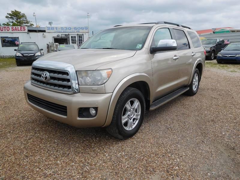 2008 Toyota Sequoia Limited In Houston Tx Us Tex Auto Sales